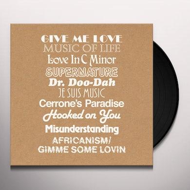 Cerrone GIVE ME REMIXES Vinyl Record