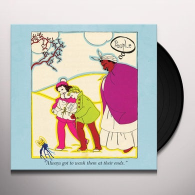 Animal Collective PEOPLE Vinyl Record