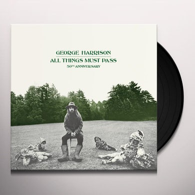 All Things Must Pass (Deluxe 5 LP Box Set) Vinyl Record