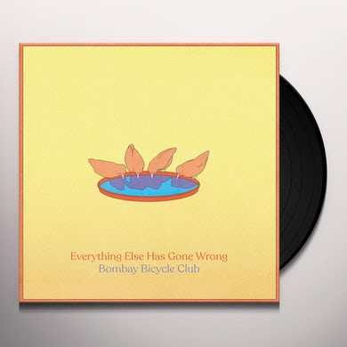 Bombay Bicycle Club EVERYTHING ELSE HAS GONE WRONG Vinyl Record