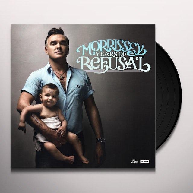 Morrissey YEARS OF REFUSAL Vinyl Record
