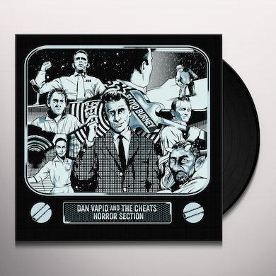 Dan Vapid & Cheats / Horror Section TWILIGHT ZONE SPLIT Vinyl Record