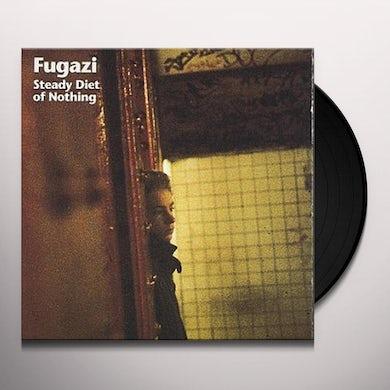 Fugazi STEADY DIET OF NOTHING Vinyl Record