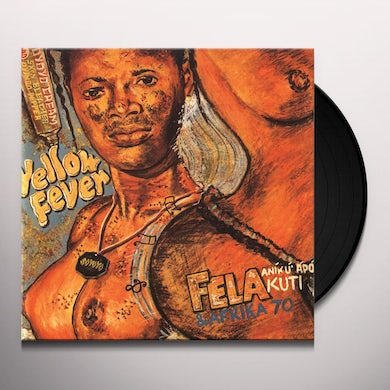 Fela Kuti YELLOW FEVER Vinyl Record