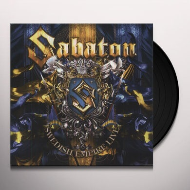 Sabaton SWEDISH EMPIRE LIVE Vinyl Record