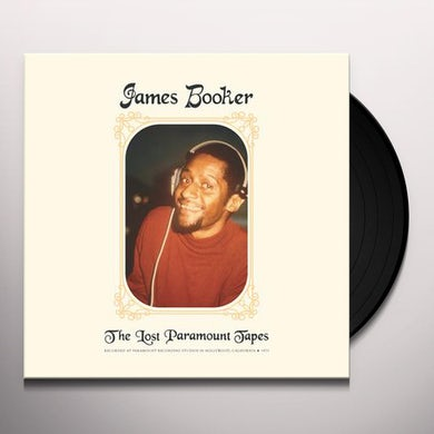 James Booker LOST PARAMOUNT TAPES Vinyl Record