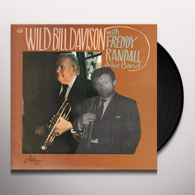 Wild Bill Davison WITH FREDDY RANDALL & HIS BAND Vinyl Record