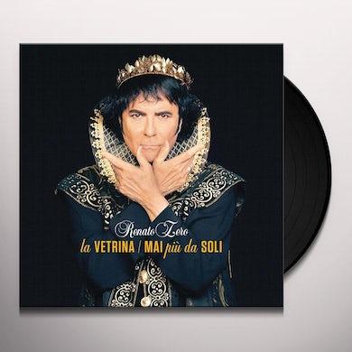 Renato Zero LA VETRINA MAI PIU SOLI Vinyl Record