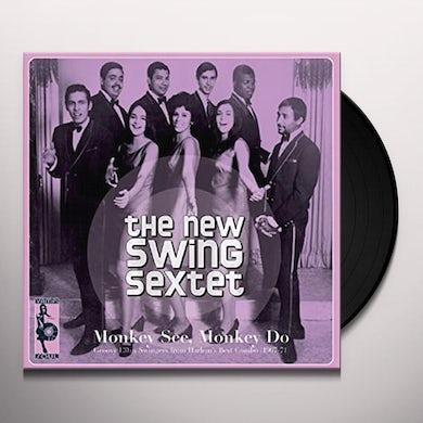 New Swing Sextet MONKEY SEE MONKEY DO Vinyl Record
