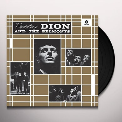 PRESENTING DION & THE BELMONTS + 2 BONUS TRACKS Vinyl Record