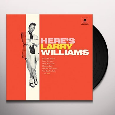 HERE'S LARRY WILLIAMS + 2 BONUS TRACKS Vinyl Record - 180 Gram Pressing, Spain Release