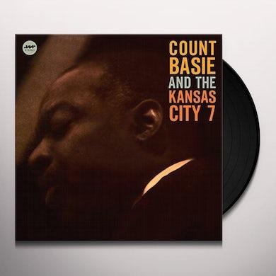 Count Basie KANSAS CITY 7 + 1 BONUS Vinyl Record