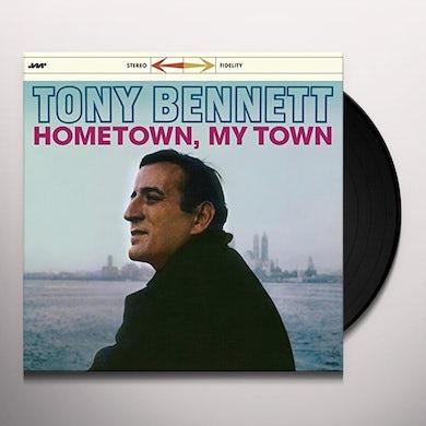 Tony Bennett HOMETOWN MY TOWN + 3 BONUS TRACKS Vinyl Record
