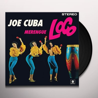 Joe Cuba MERENGUE LOCO Vinyl Record - Spain Release
