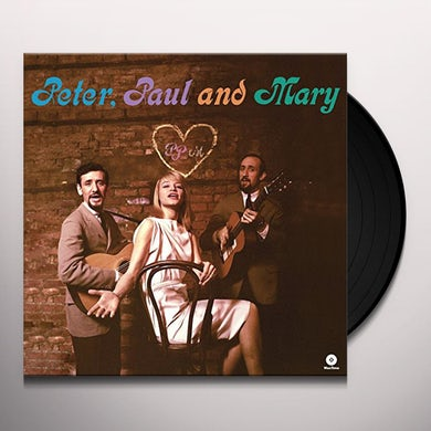 Peter Paul & Mary DEBUT ALBUM Vinyl Record - Spain Release