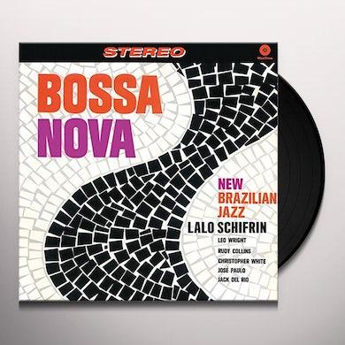 Lalo Schifrin BOSSA NOVA: NEW BRAZILIAN JAZZ + 2 BONUS TRACKS Vinyl Record