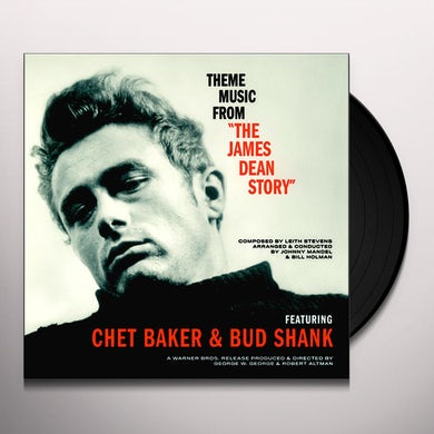 Bud Shank THEME MUSIC FROM THE JAMES DEAN STORY Vinyl Record