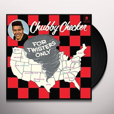 Chubby Checker FOR TWISTERS ONLY + 2 BONUS TRACKS Vinyl Record