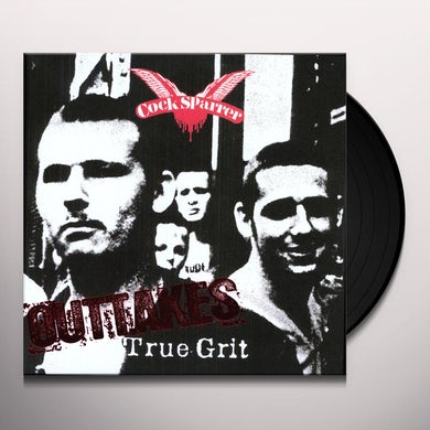 Cock Sparrer TRUE GRIT OUTTAKES Vinyl Record
