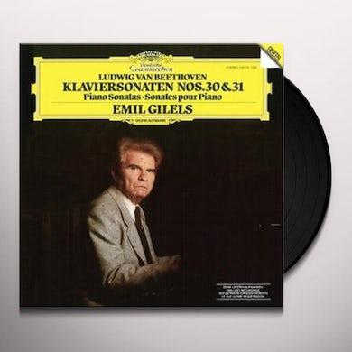Emil Gilels BEETHOVEN: PIANO SONATA NOS. 30 & 31 Vinyl Record