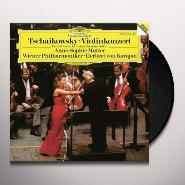 Anne-Sophie Mutter TCHAIKOVSKY: VIOLIN CONCERTO Vinyl Record