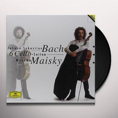 Mischa Maisky BACH: 6 CELLO SUITES Vinyl Record