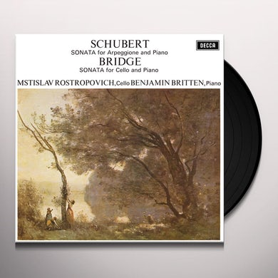 Mstislav Rostropovich SCHUBERT & BRIDGE: SONATAS Vinyl Record