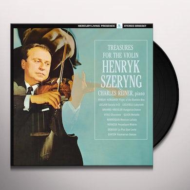 Henryk Szeryng TREASURES FOR THE VIOLIN Vinyl Record