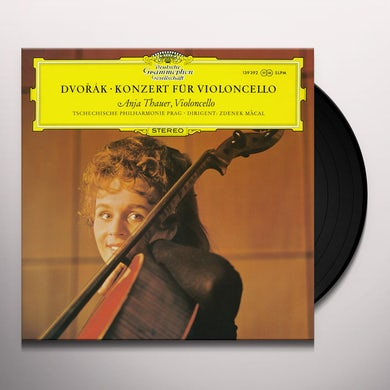 Dvorak / Anja Thauer / Tschechiche Philharmonic DVORAK: CELLO CONCERTO Vinyl Record