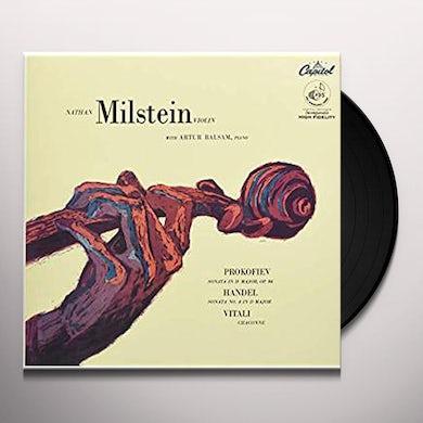 Nathan Milstein VIOLIN SONATAS & CHACONNE (PROKOFIEV HANDEL & Vinyl Record