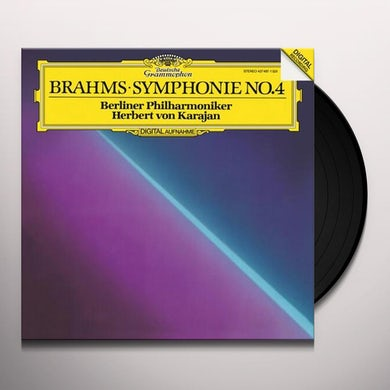 Herbert Von Karajan / Berlin Philharmonic BRAHMS SYMPHONY NO. 4 Vinyl Record
