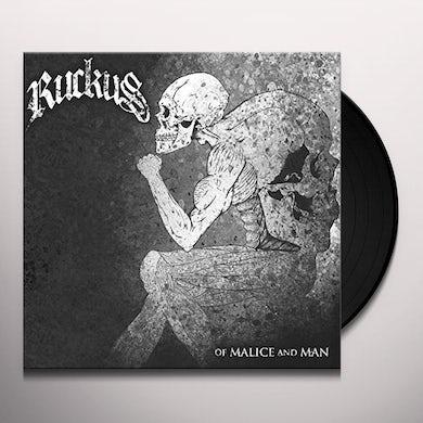 Ruckus OF MALICE & MAN Vinyl Record