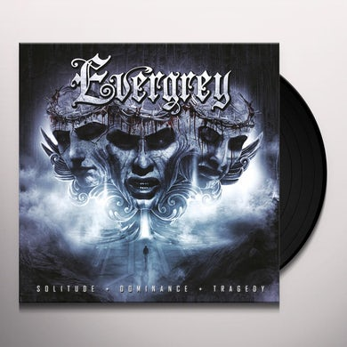 Evergrey SOLITUDE DOMINANCE TRAGEDY Vinyl Record
