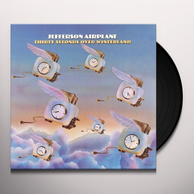 Jefferson Airplane 30 SECONDS OVER WINTERLAND Vinyl Record - UK Release