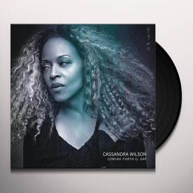 Cassandra Wilson COMING FORTH BY DAY Vinyl Record