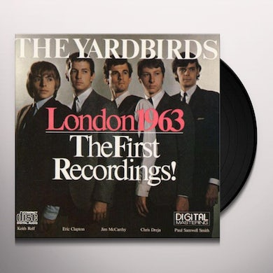 The Yardbirds LONDON 1963: THE FIRST RECORDINGS! Vinyl Record