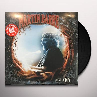 Martin Barre LIVE IN NY Vinyl Record