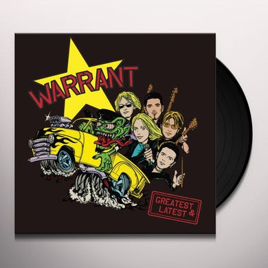 GREATEST & LATEST (CHERRY SPLATTER VINYL) Vinyl Record