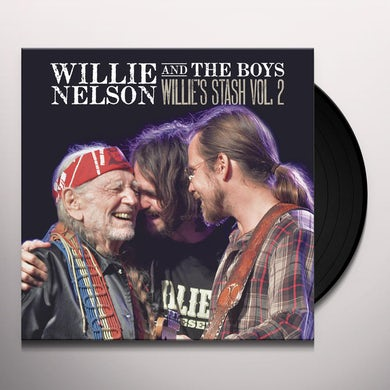 Willie Nelson WILLIE & THE BOYS: WILLIE'S STASH VOL 2 Vinyl Record