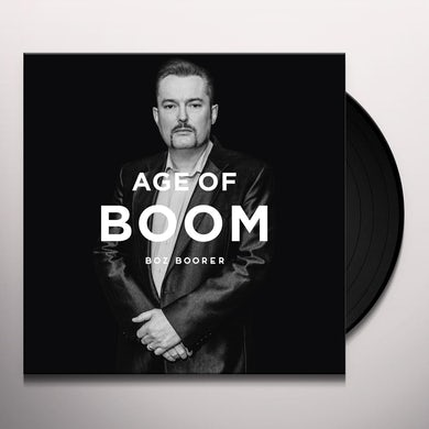 Boz Boorer AGE OF BOOM Vinyl Record - UK Release