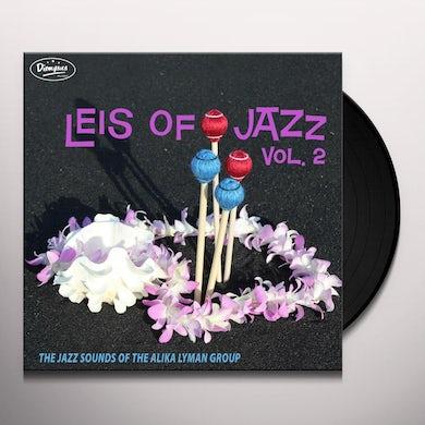 ALIKA LYMAN GROUP LEIS OF JAZZ VOL 2 Vinyl Record