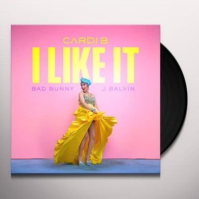 Cardi B I LIKE IT Vinyl Record
