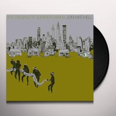 Joni Mitchell HISSING OF SUMMER LAWNS Vinyl Record