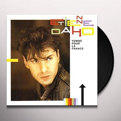 Etienne Daho TOMBE POUR LA FRANCE Vinyl Record