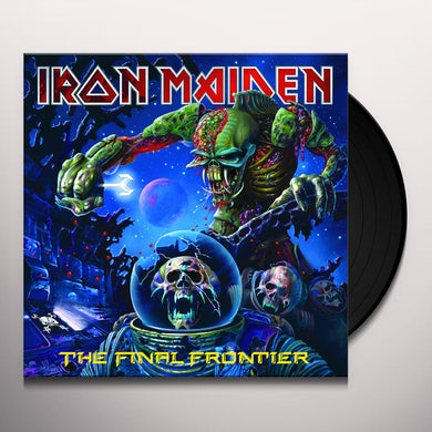 Iron Maiden FINAL FRONTIER Vinyl Record