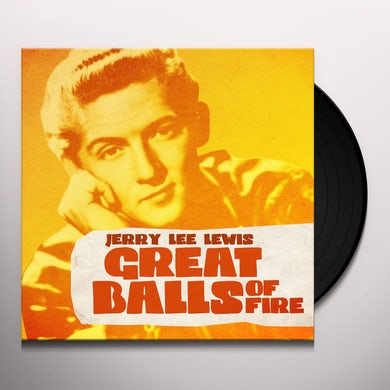 Jerry Lee Lewis GREAT BALLS OF FIRE Vinyl Record