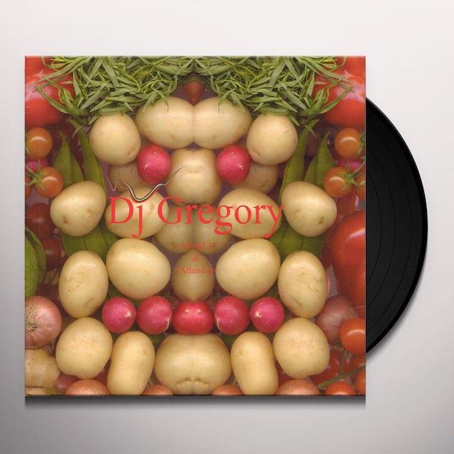 Dj Gregory ATTEND Vinyl Record