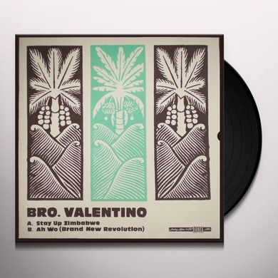 Bro. Valentino STAY UP ZIMBABWE Vinyl Record