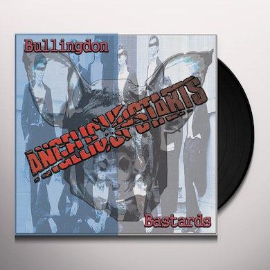 Angelic Upstarts BULLINGDON BASTARDS Vinyl Record