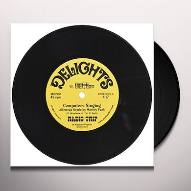 DELIGHTS VS AUDIO MONTAGE / VARIOUS Vinyl Record
